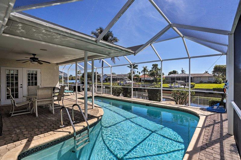 Questa casa vacanza a Cape Coral è perfetta per la tua fuga in Florida!