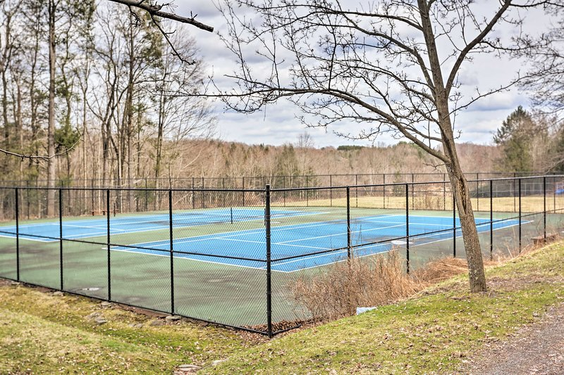 Anyone up for a game of tennis?