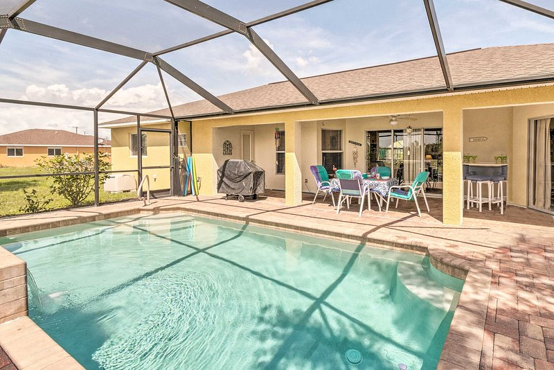 This stunning Cape Coral vacation rental home awaits!