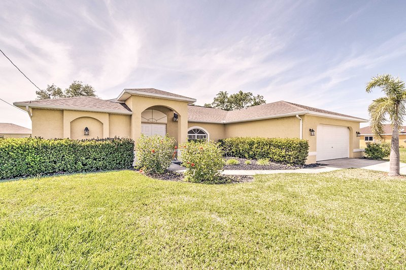 With 3 bedrooms and 2 baths, this lovely home can host a family of 6.