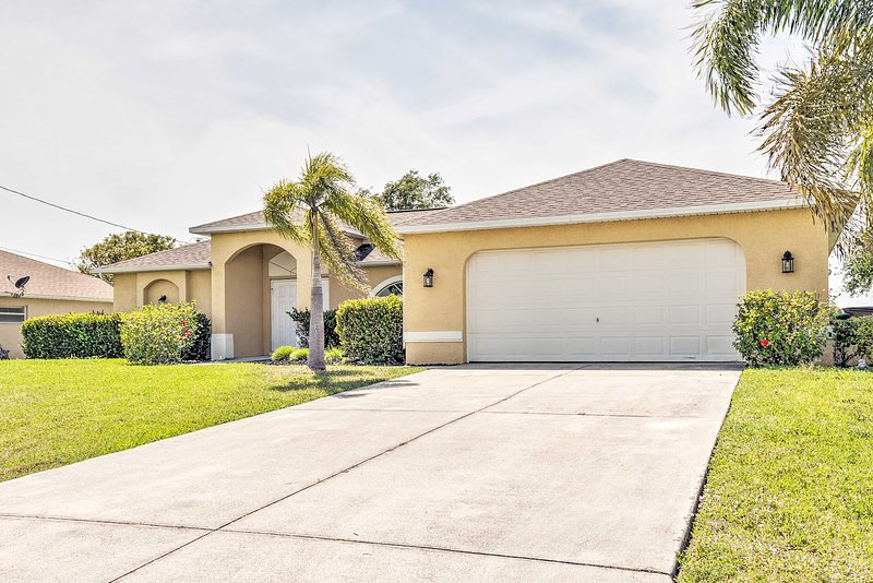 This vacation rental is perfect for your next Cape Coral family getaway!