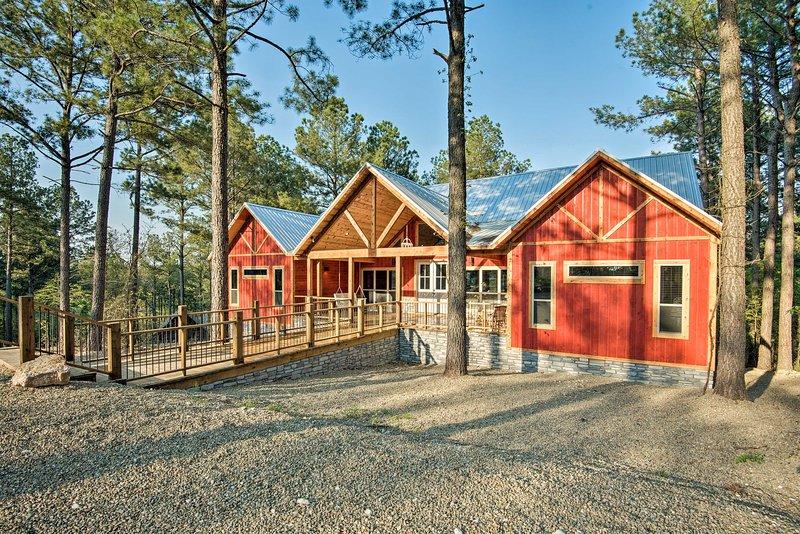 Profitez d'une atmosphère privée et paisible dans cette cabine de luxe.