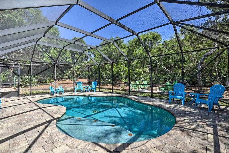 St. Augustine Home with Pool, Walk to Beach!, holiday rental in Villano Beach
