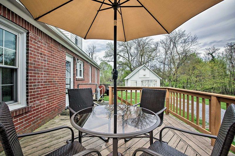 Troutville Home by Blue Ridge Pkway & Roanoke, alquiler de vacaciones en Buchanan