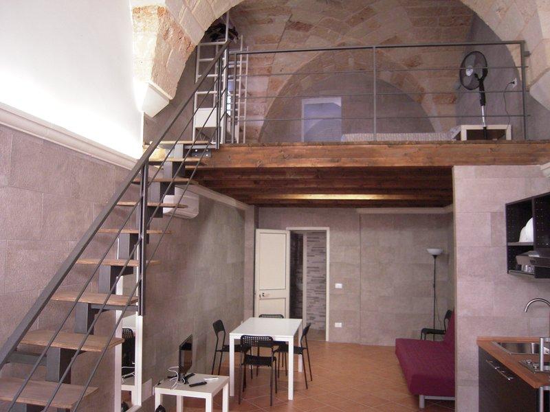 nice studio with loft, holiday rental in Sternatia