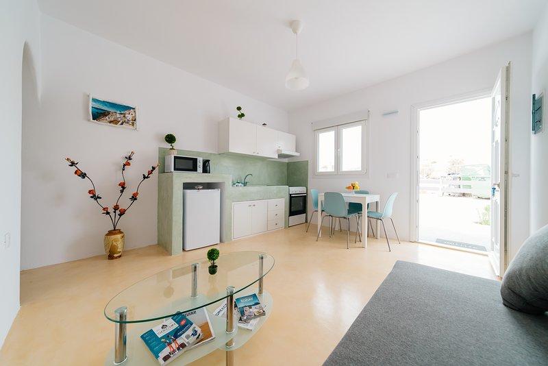 Exclusive Cycladic Elegant Home, holiday rental in Agios Georgios