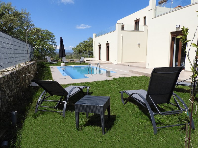The villa of Europe in Crete, holiday rental in Panorama