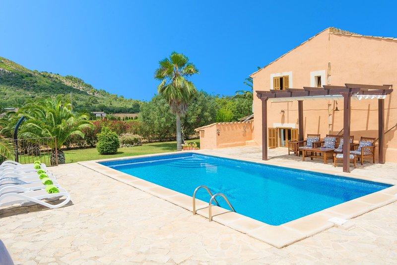 CAN CORRÓ - Villa for 8 people in Alcudia, casa vacanza a Playa de Muro