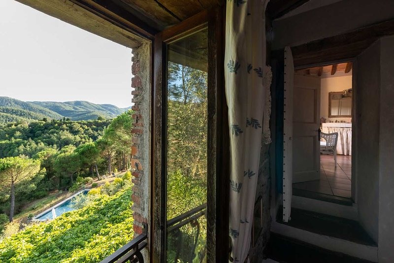 Stunning valley views from all windows. Large swimming pool nestled just below the house.