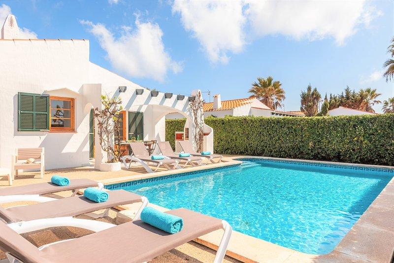 Villa Gum, alquiler de vacaciones en Menorca