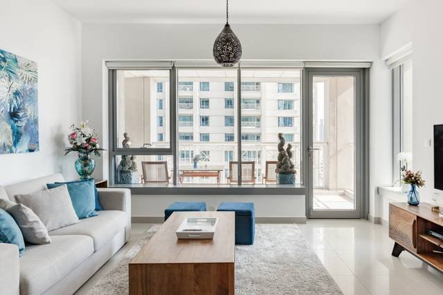 Downtown Dubai 1BR with Superb City Views, aluguéis de temporada em Jebel Ali