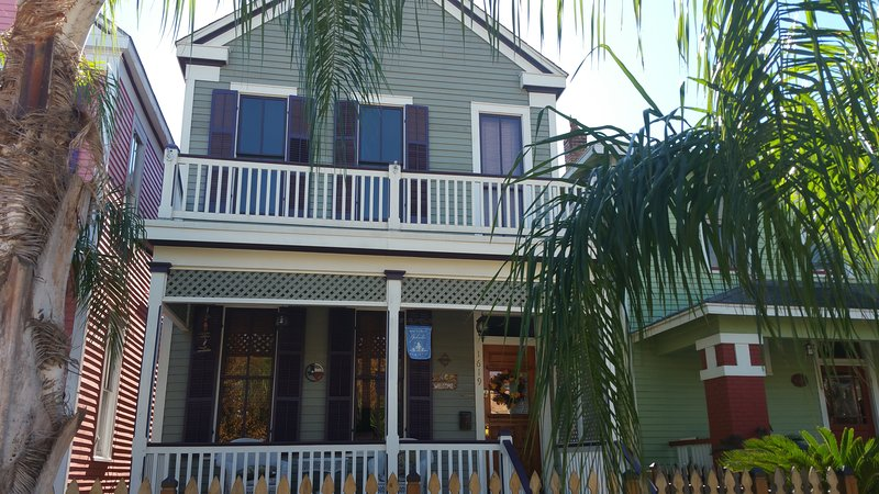 Purple Flamingo – semesterbostad i Galveston Island