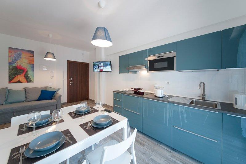 C5A Riviera-Holiday 100 mt dal mare - wifi - aria condizionata - posto auto, holiday rental in Pietra Ligure