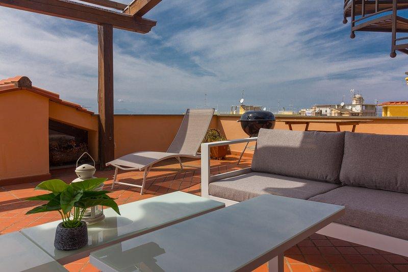 Casa Felicità - Apartment with terraces and sea view in Massa Lubrense, Ferienwohnung in Massa Lubrense