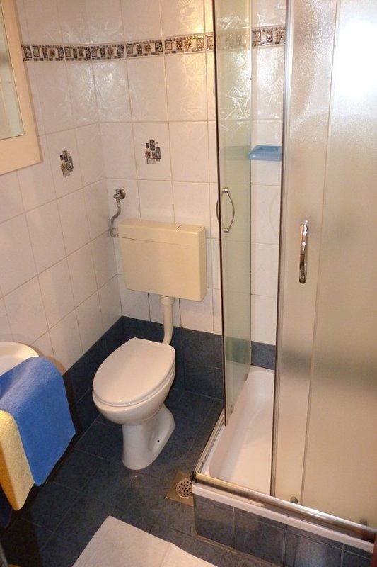 SA1 zuti(2+1): bathroom with toilet