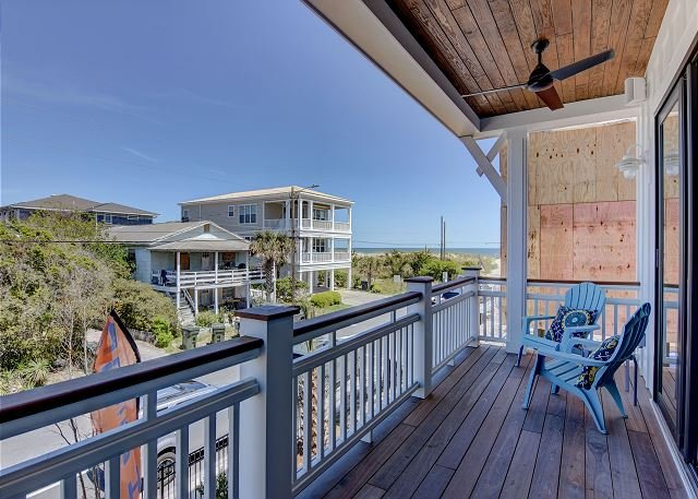 Beach Bubble Bungalow - Oceanview Duplex in Wrightsville Beach