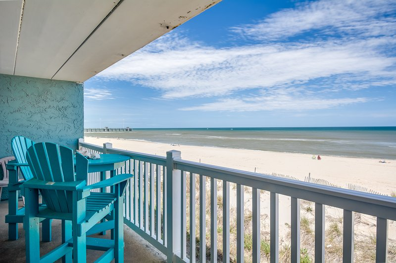 Sweet Southern Pearl, OBX Oceanfront Condo, location de vacances à Nags Head