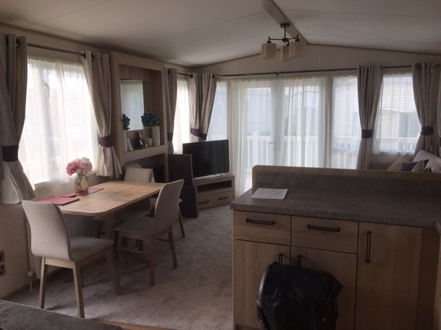Beautiful 8 birth brand new luxary caravan, all mod cons, in a prime location., holiday rental in Skegness
