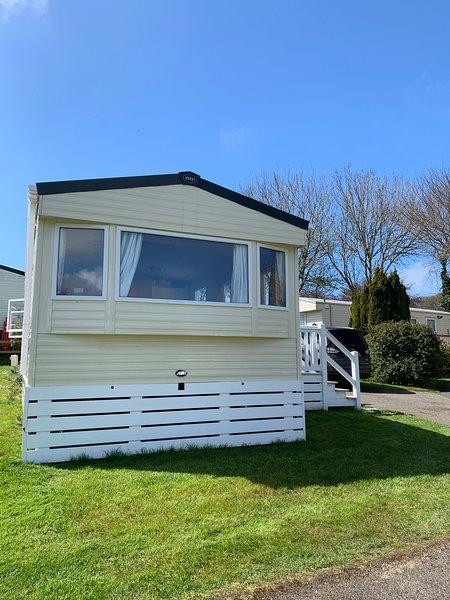 3 bedroom (6berth) static caravan near Newquay, Ferienwohnung in Crantock