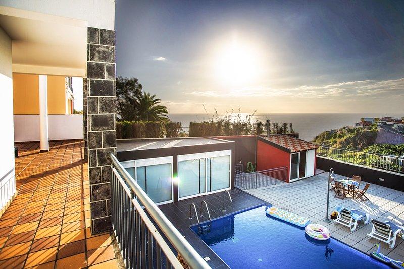 Ribeira Brava Villa Sleeps 8 with Pool - 5779618, holiday rental in Ribeira Brava