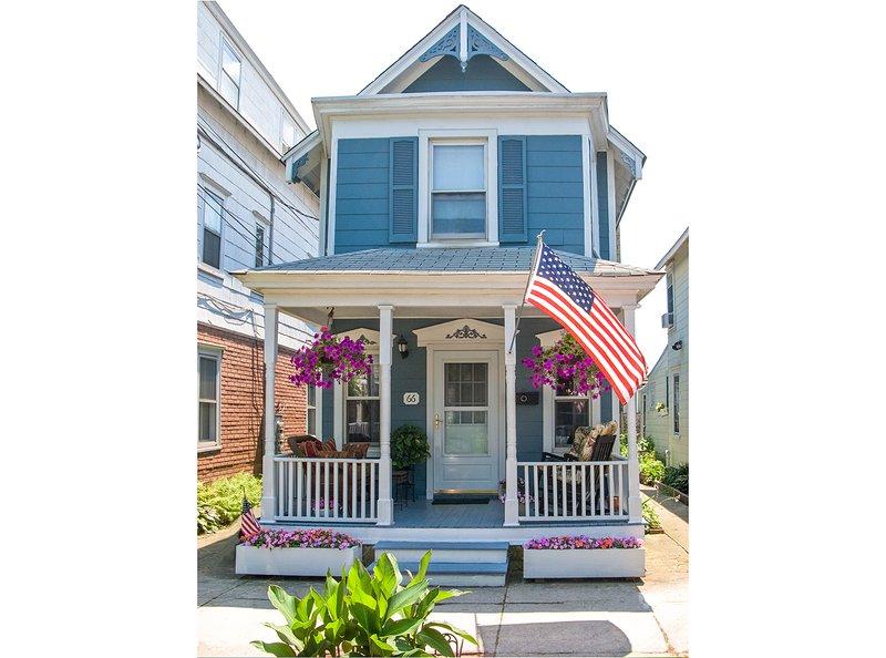 Ocean Grove Summer Beach House Rental, alquiler vacacional en Neptune