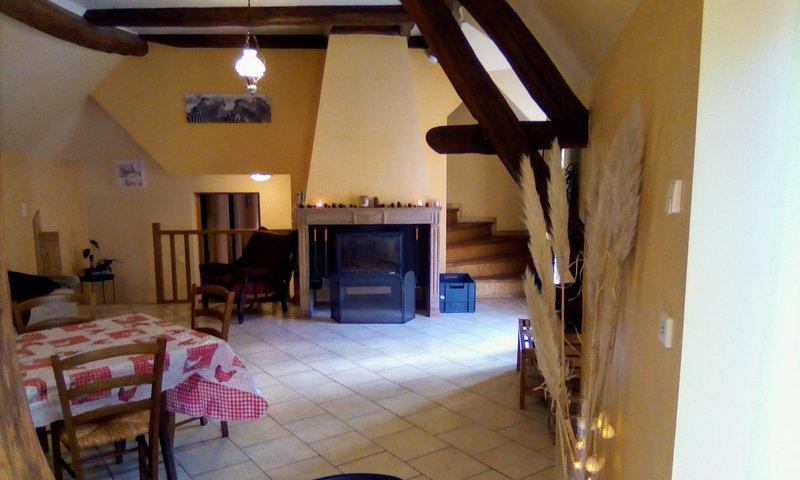 Gîte de la licorne, vacation rental in Pontailler-sur-Saone