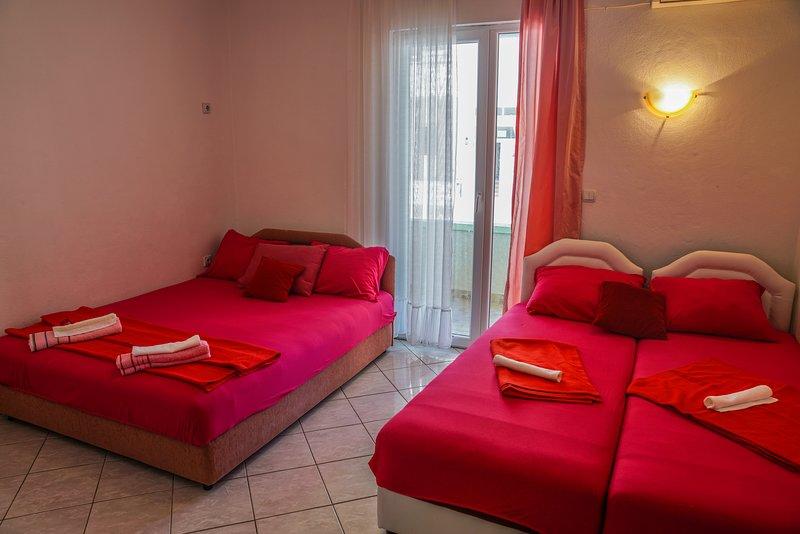 Due letti singoli possono essere facilmente uniti in un letto matrimoniale