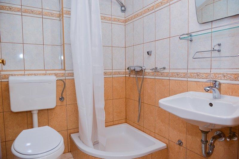 A8 (3 + 1): baño con inodoro.
