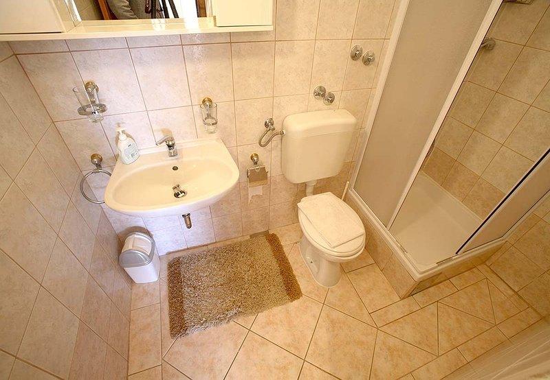 A12 (4 + 2): bagno con wc