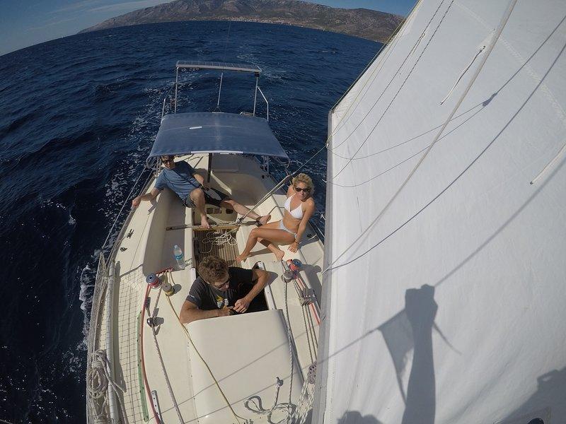 Sail on the Adriatic sea, Croatia, holiday rental in Punat