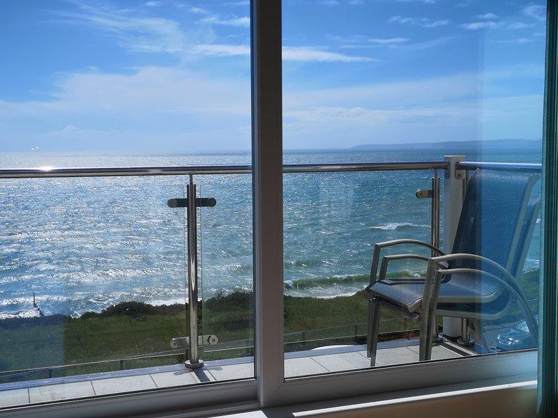 Apartment with Fabulous Sea View near Bournemouth, location de vacances à Wick
