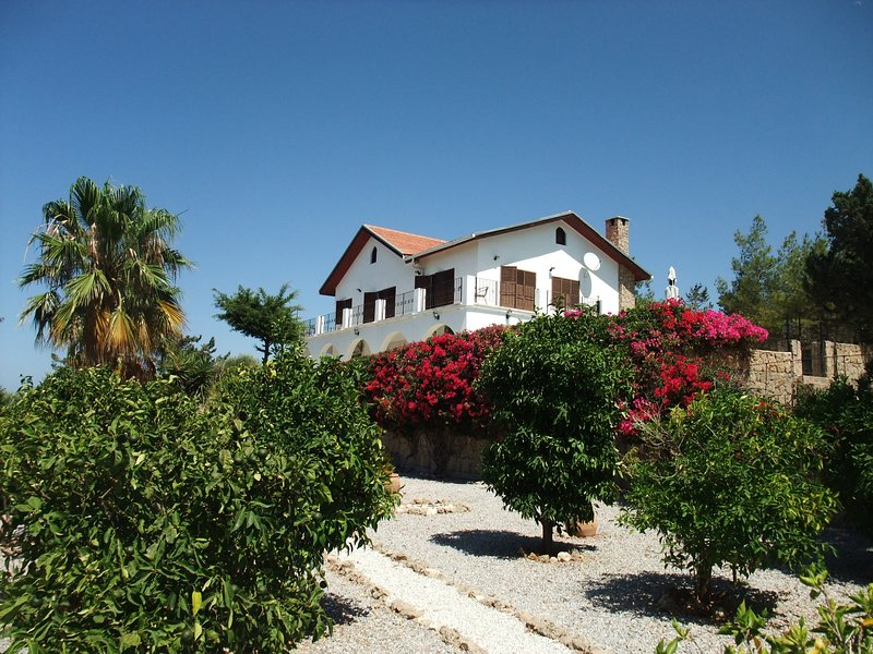 Private, well maintained gardens.