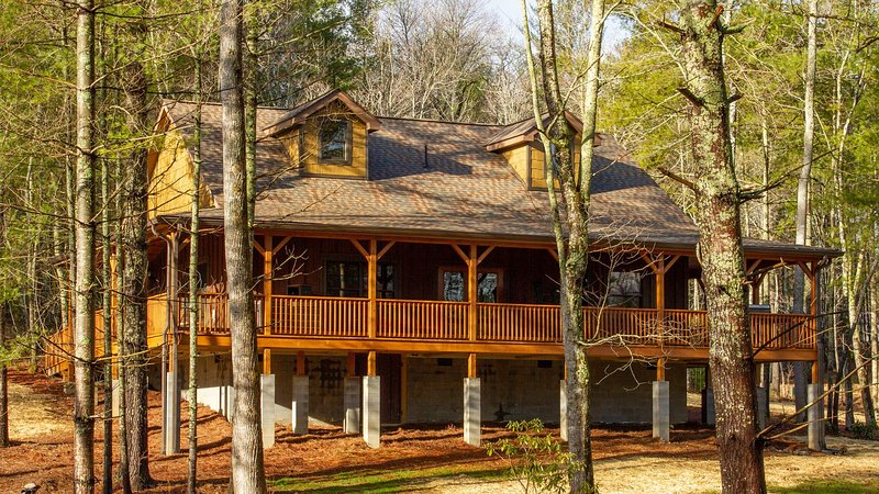 Admirable Asheville Country Cabins Mountain Laurel Cabin Luxury Interior Design Ideas Oxytryabchikinfo