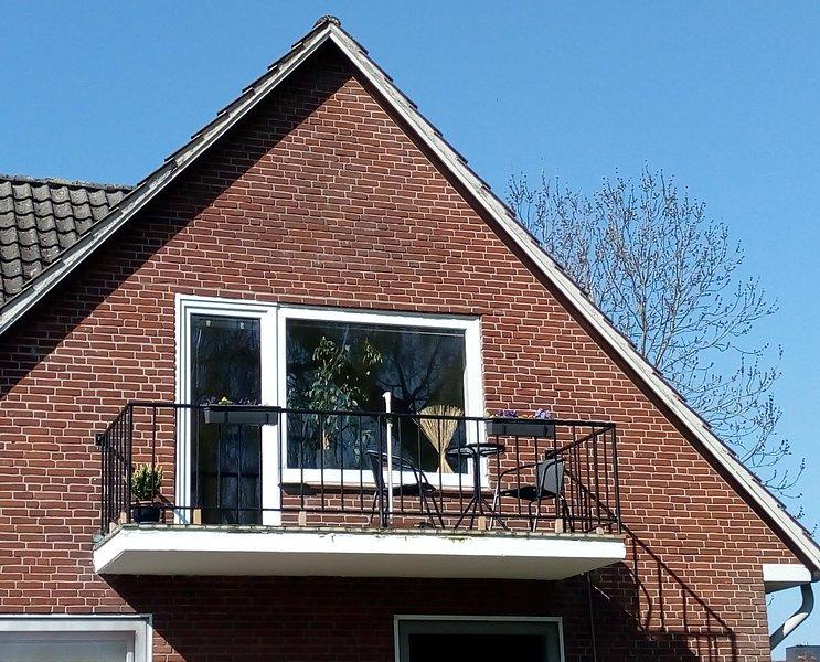 South balcony