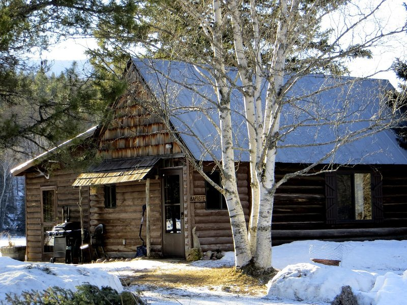 Baptiste is one of the original cabins built on the Abbott Valley Homestead for visiting trappers.