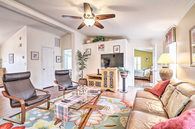 Claim this 4-bed, 3-bath home as your Surfside Beach getaway!