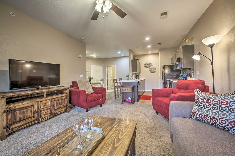 Your Branson getaway begins at this well-appointed condo!