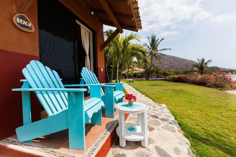 Beach Suite | Casa Manzanillo B&B - Troncones, MX, holiday rental in Troncones