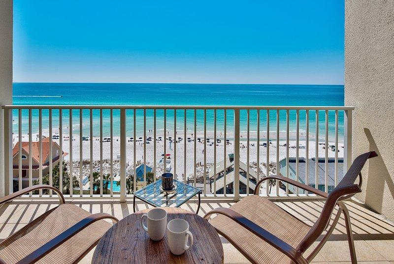Splendida vista sul golfo dal 10 ° piano