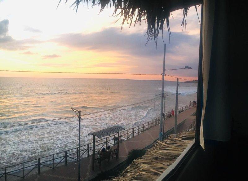 Panoramic ocean view in front of the beach - Sea, alquiler de vacaciones en Montañita