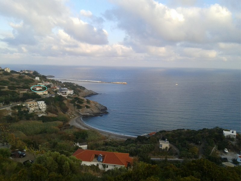 The house of summer winds, vacation rental in Ikaria
