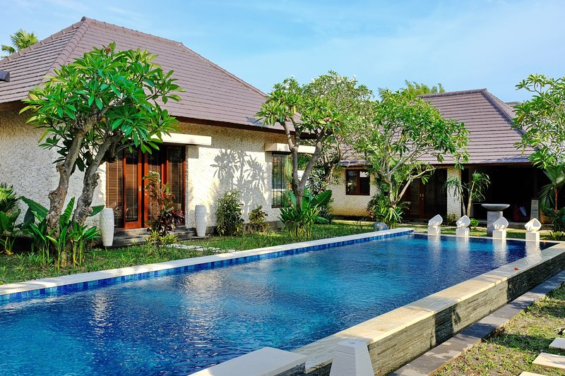 ARTORIA Pandawa Twin villas, can accomodate 4 adults and up to 4 children