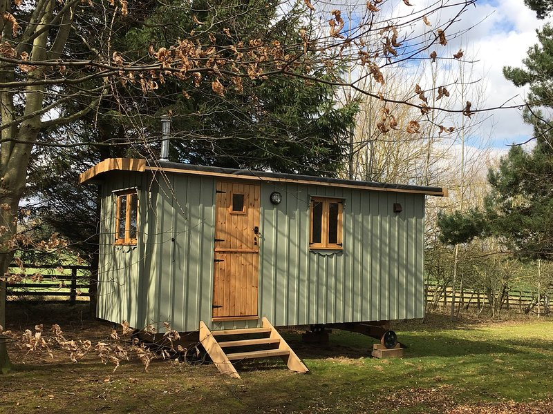 Strawberry Safari Shepherds huts, location de vacances à Sawley