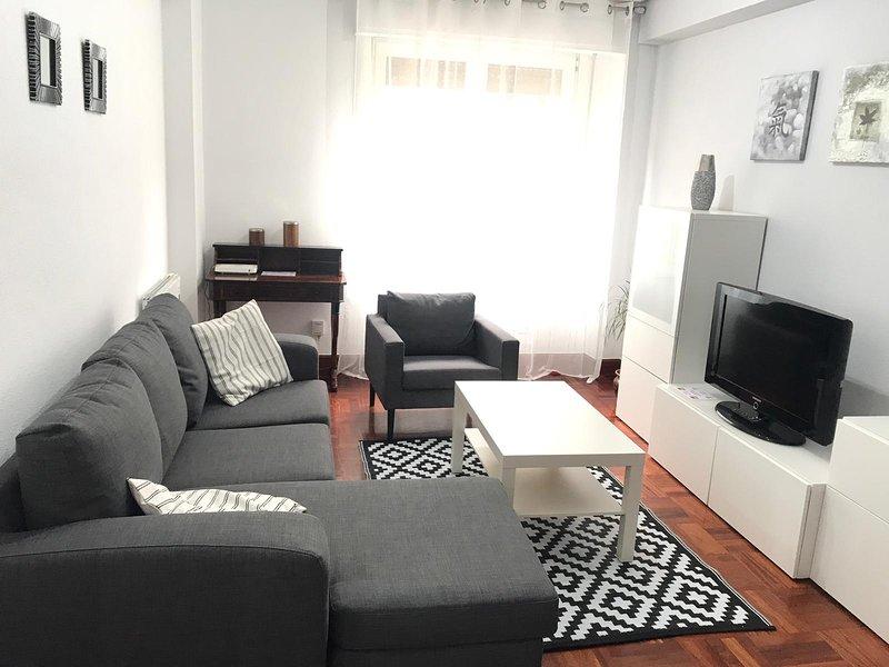 Centro Zarautz piso+garaje+wifi – semesterbostad i Azpeitia
