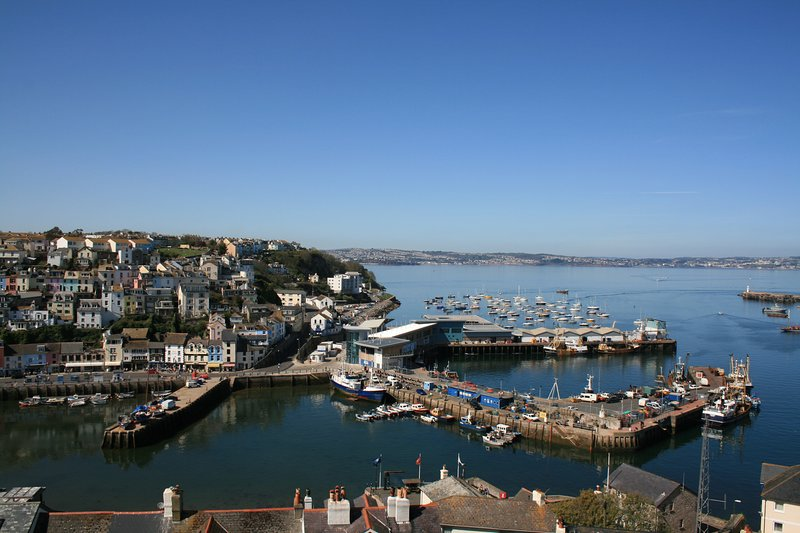 Amazing sea and harbour views from this lovely house., holiday rental in Brixham
