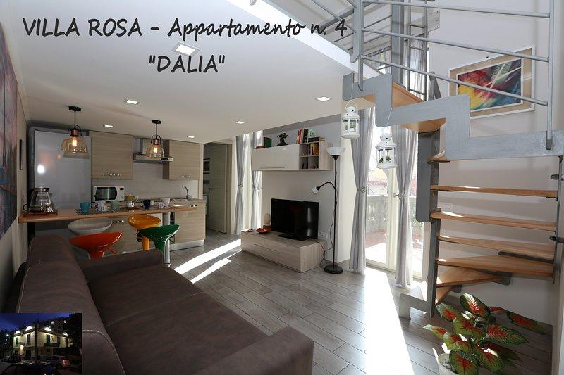 VILLA ROSA - Appartamento n. 4 'DALIA', holiday rental in Bagnoli