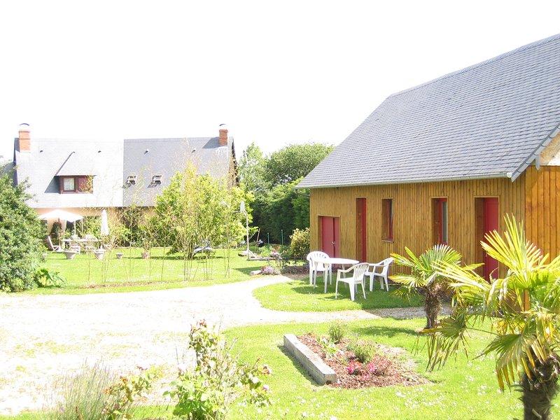 Chambres de l estuaire 1, Ferienwohnung in Gonneville-sur-Honfleur