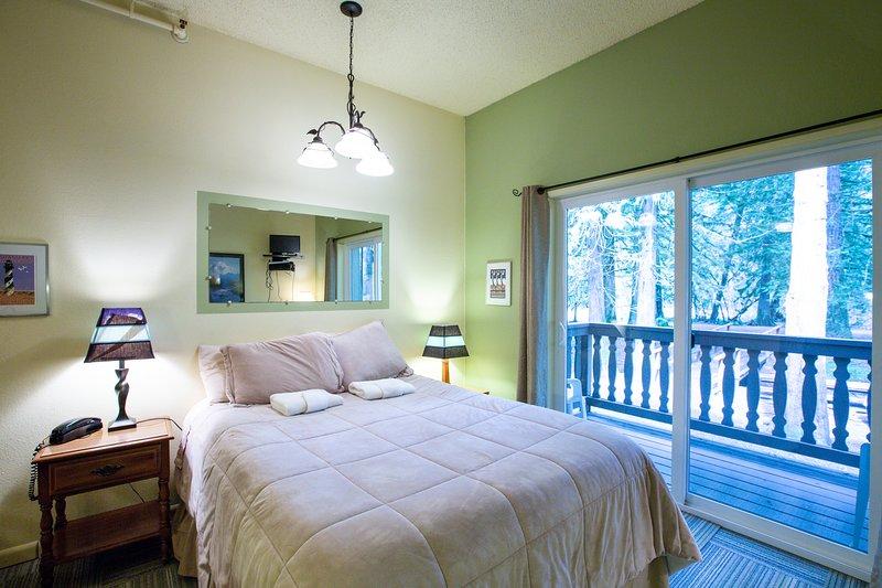Snowline Lodge Condo #77 - KITCHENETTE, FULL BATH, DVD, SHARED WIFI,  SLEEPS-2! Chalet in Mt Baker Glacier