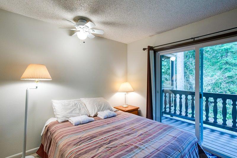 Snowline Lodge Condo #9 - KITCHENETTE, SHARED WIFI, DVD, FULL BATH, SLEEPS-2! Chalet in Mt Baker Glacier