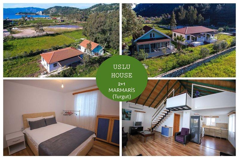 Uslu Home 2+1 Turgut Daily Weekly Rentals, holiday rental in Marmaris
